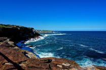 Coogee cliffs