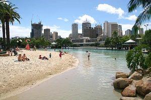 Brisbane-Australia-Man-Made-Beach