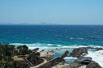 Brisbane on the horizon
