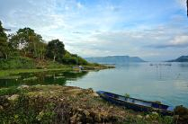 Shores of Lake Toba