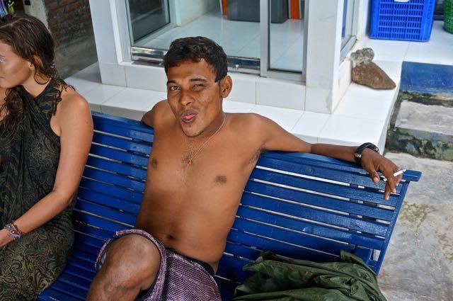 Mur, divemaster on Pulau Weh