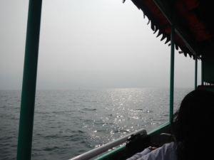 Ferry over to Samosir Island