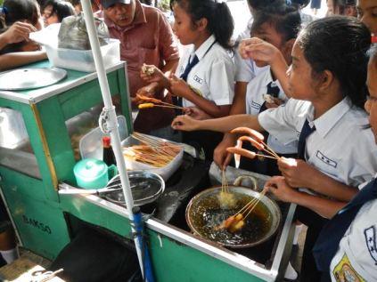 Lunch time, Samosir Island