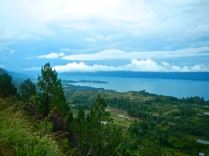 Lake Toba, little peninsula is Tuk Tuk