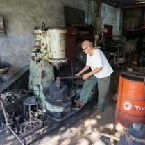 Blacksmith in Georgetown, Penang