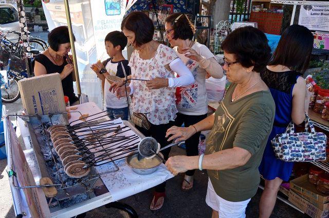 Chinese cookies in Georgetown, Penang