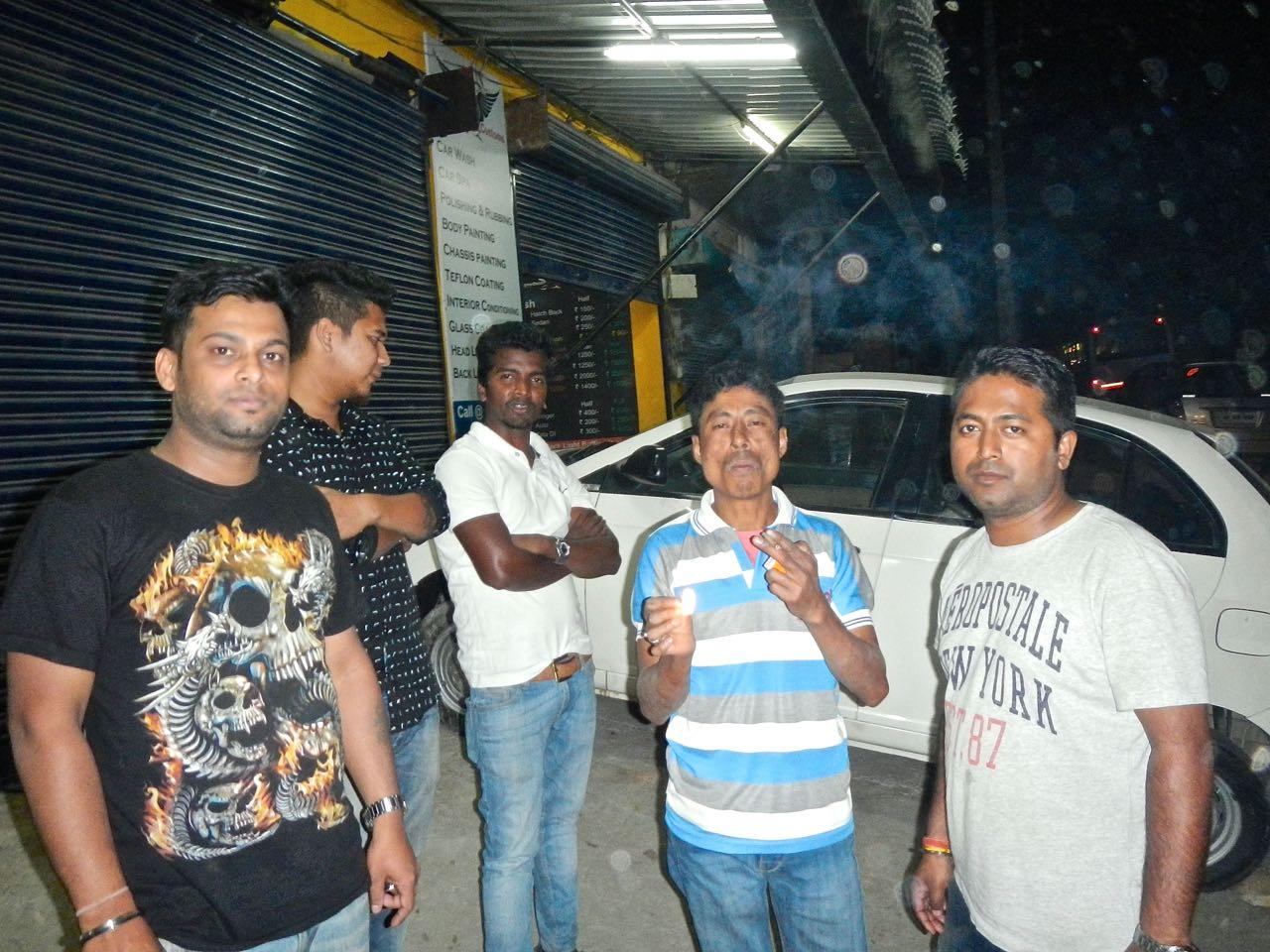 Assam weed & wash, Meghalaya, Cherrapunji family, Khasi