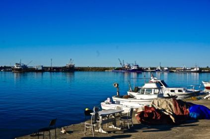 fishing boats black sea in turkey blue water beautiful travel