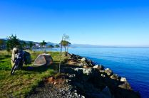 camping black sea turkey shore beautiful travel adventure motorcycle trip route