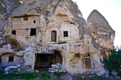 rock formations fairy chimneys cappadocia turkey travel view beautiful hike shapes valley homes carved