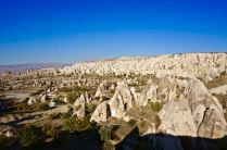 rock formations fairy chimneys cappadocia turkey travel view beautiful hike shapes valley