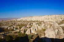 rock formations fairy chimneys cappadocia turkey travel view beautiful hike shapes valley