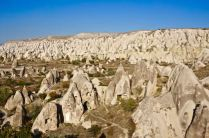 rock formations fairy chimneys cappadocia turkey travel view beautiful hike shapes valley goreme