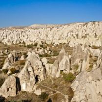 rock formations fairy chimneys cappadocia turkey travel view beautiful hike shapes valley goreme