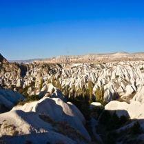 rock formations fairy chimneys cappadocia turkey travel view beautiful hike