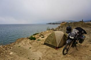 Gallipoli coast camping