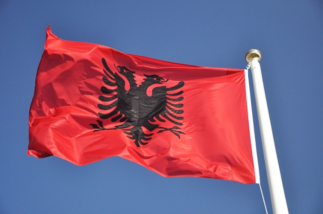 Albanian-sewn-flag-embroidered-flying-pole-stitched-buy-price-photo-3